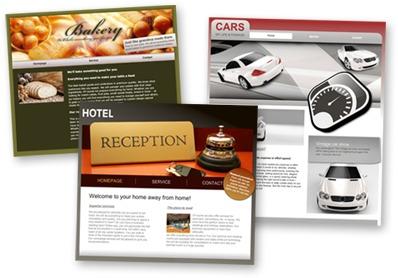 Website Templates for business Website
