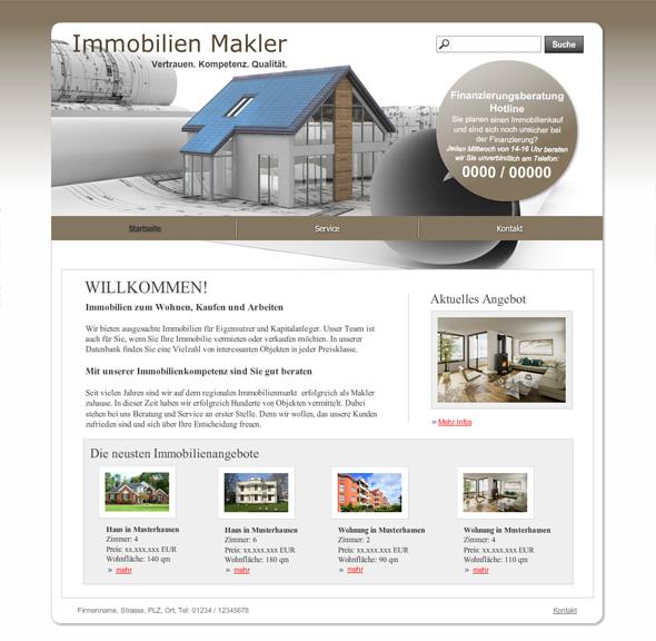 10 neue Vorlagen für Immobilienmakler