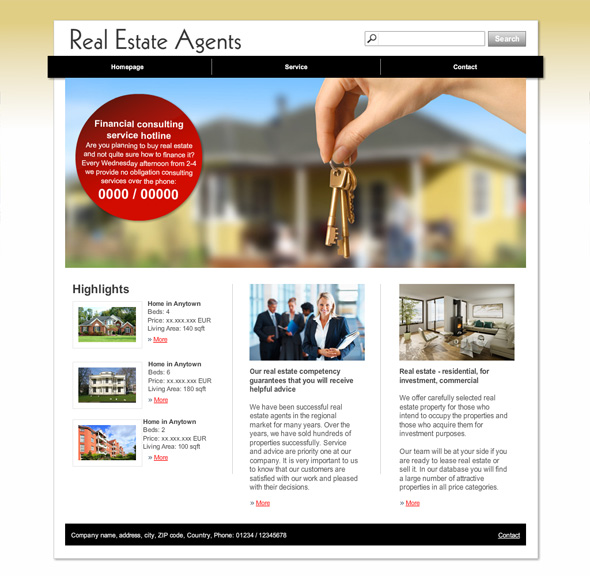 10 new templates for Real estate agents